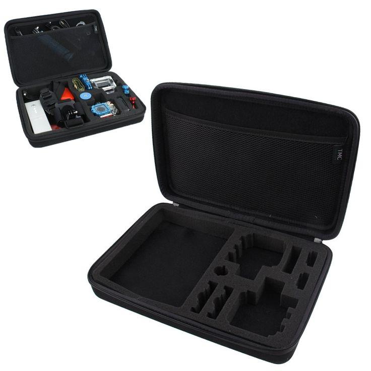 Schokbestendige draagbare Waterdicht hoes / case voor GoPro Hero 5 / 4 / 3 / 3 / 2 / 1 (zwart)  Zoekt u een beschermende en waterbestendige hoes voor uw Gopro Hero4 / 3 / 3 / 2 / 1? Dan is dit toch wel een aanrader. Stevige materialen goede bescherming en ook nog waterbestendig. Dit is de hoes / case voor uw Gopro.  1) Een speciaal ontworpen opbergtas voor uw GoPro camera & Accessoires 2) Perfect voor GoPro-opslag wanneer u de camera niet in gebruik heeft 3) Fantastische beschermende opberg…