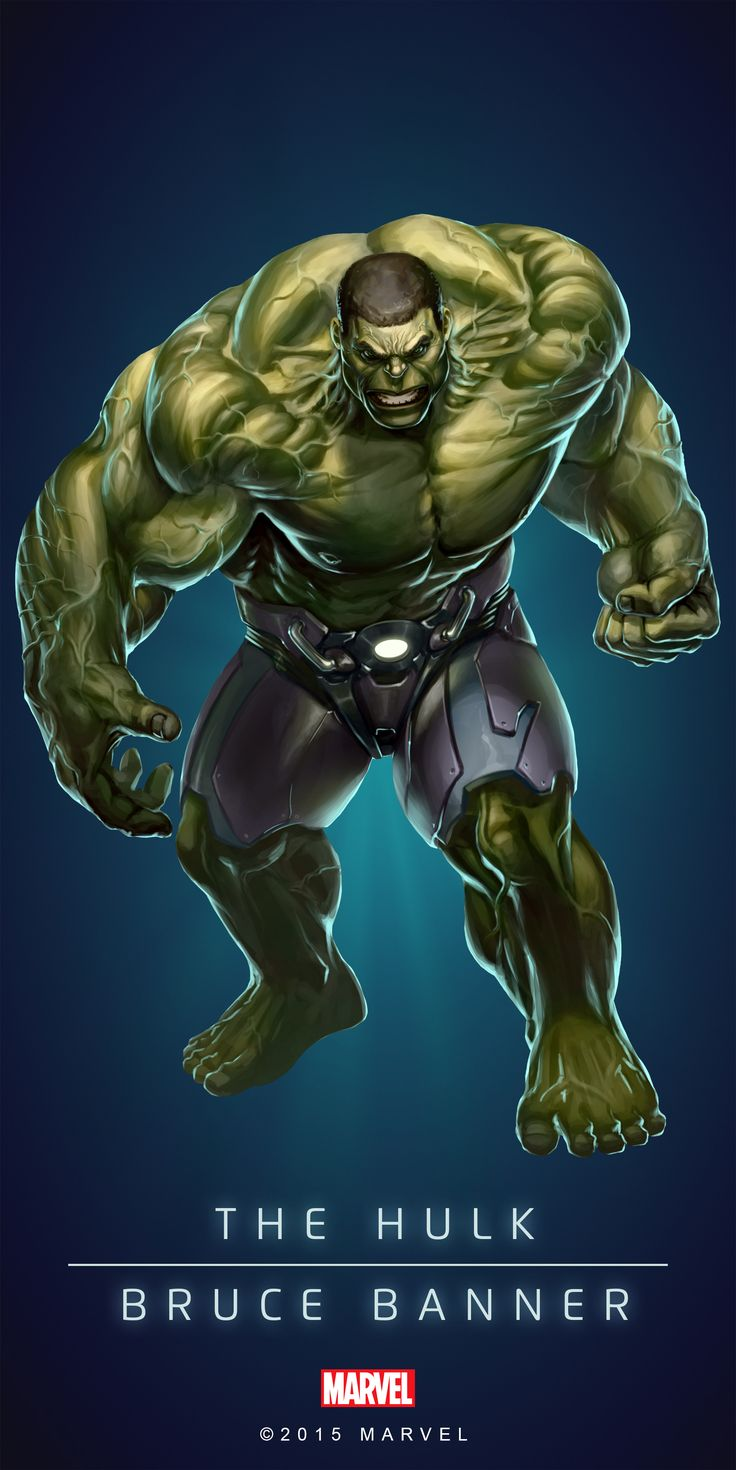 #Hulk #Fan #Art. (HULK! IN: MARVEL'S PUZZLE QUEST!) BY: AMADEUS CHO! ÅWESOMENESS!!!™ ÅÅÅ+(IT'S THE MOST ADDICTING GAME ON THE PLANET, YOU HAVE BEEN WARNED!!!)