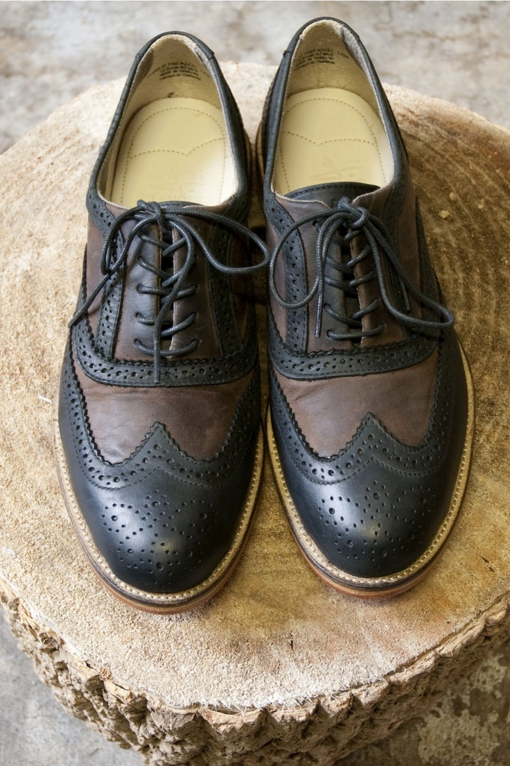 J Shoes Charlie Two Tone Brogue