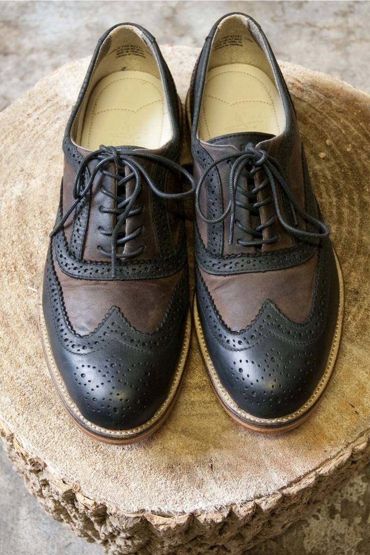 J Shoes Charlie Two Tone Brogue