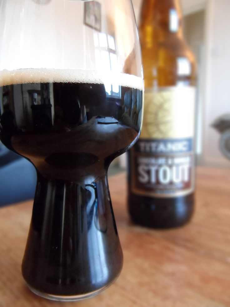 The Spiegelau Stout Glass - making stout taste incredible since 2014... #craftbeer #stout