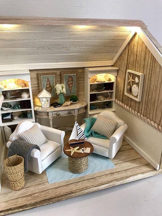 Dollhouse Living Room And Study Room Mini Floor Lamp Model 1//12 Scale
