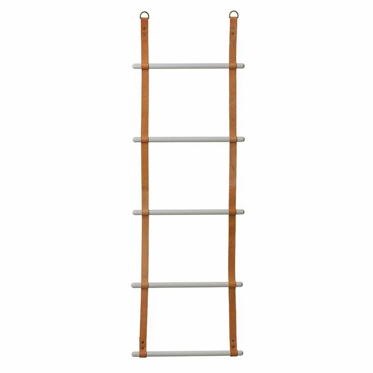 Leiter Hänge-Aufbewahrung Leder/Metall Ladder von Ferm Living