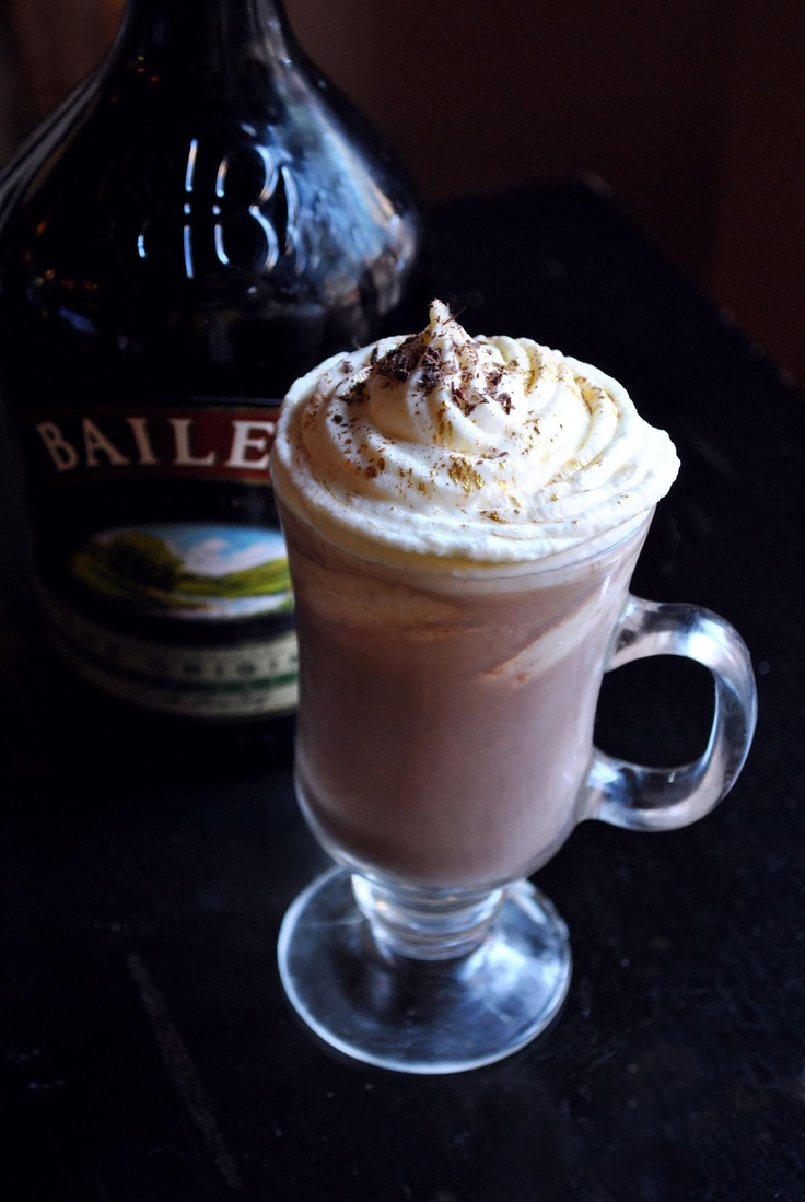 BAILEYS HOT CHOCOLATE Irish-up your hot chocolate. | The Sweetest ...