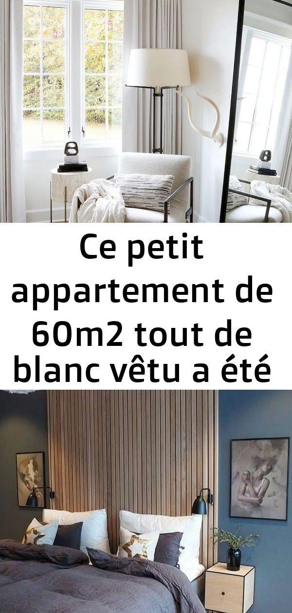 Ce Petit Appartement De 60m2 Tout De Blanc Vetu A Ete Cree Dans