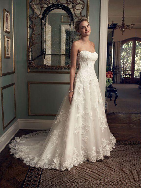 свадебные платья - A-line фасонное платье