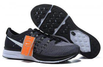 Nike FLYKNIT TRAINER  Women Shoes Black/Grey