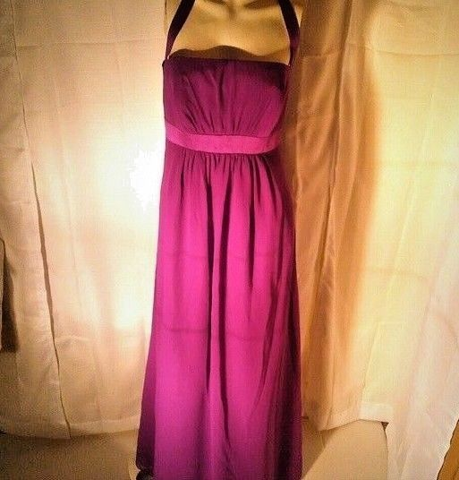 Alfred Angelo Bridesmaids Halter Dress Size 10