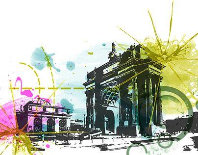 """Check out new work on my @Behance portfolio: """"Il viaggio"""" http://be.net/gallery/47997101/Il-viaggio"""