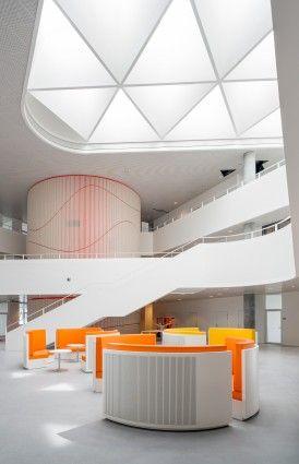 Kolding university SDU by Henning Larsen Architects.