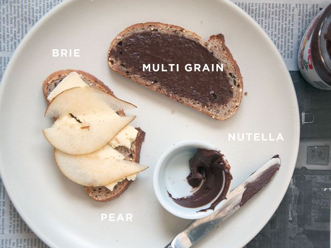 Brie, Pear, Nutella, and Multigrain.: Grilled Cheese Recipes, Sweet Grilled, Brie Grilled Cheese, Grilled Cheese Sandwiches, Salts Butter, Grilled Chee Recipes, Grilled Chee Sandwiches, Grilled Cheeses, Grilled Sandwiches