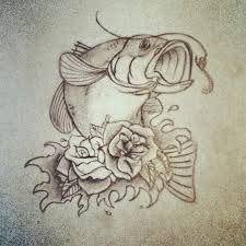 in memory of dad fishing tattoos - Google Search