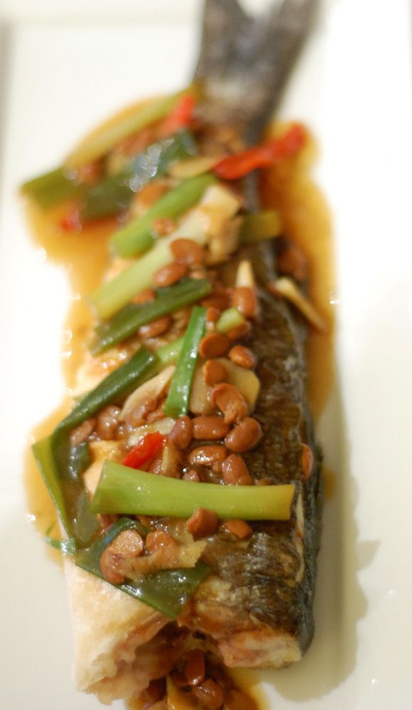 Fish in salted soya bean sauce