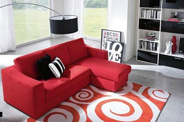 #Decoracion en #Rojo, color arriesgado no apto para tímidos.