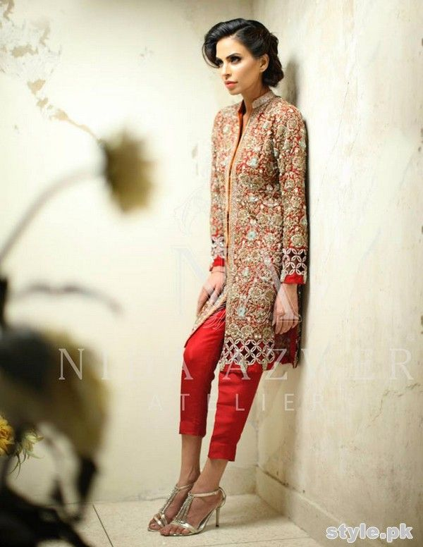 Nida Azwer Formal Wear Dresses 2015 For Girls 5 Desi Dresses Pinterest
