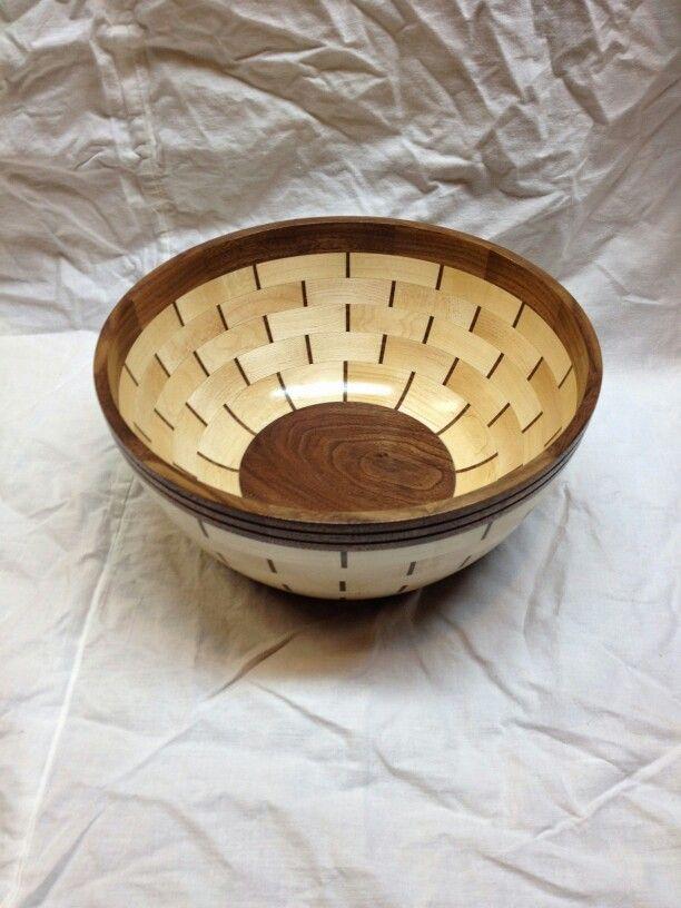 Segmented bowl.