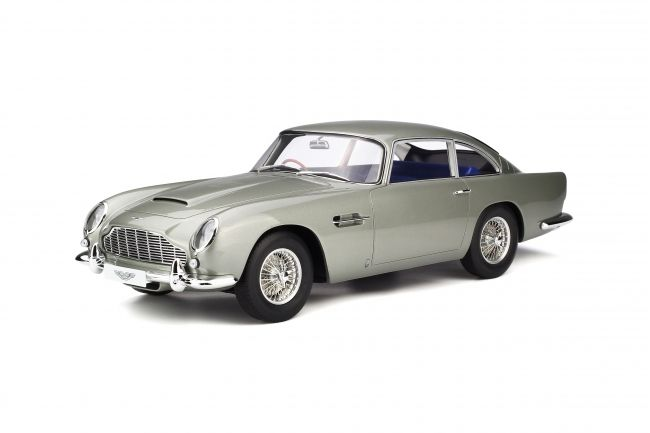 GT Spirit has grown a strong name for itself in building some of the coolest resin models and yet holds them to a reasonable price. Dodge aficionados in particular should make sure they're familiar with the manufacturer, given their breadth of scale model cars… just like this Aston Martin DB5.    <em>– Bill@ChoiceGear</em>