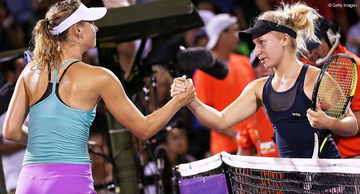 M・シャラポワが世界ランク97位に負け、初戦敗退(マイアミ・オープン2015)