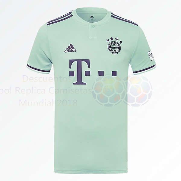 Venta Camisetas Tailandia Segunda Camiseta Bayern de Múnich 2018 2019 Verde  €20.00 6dacd9093d7