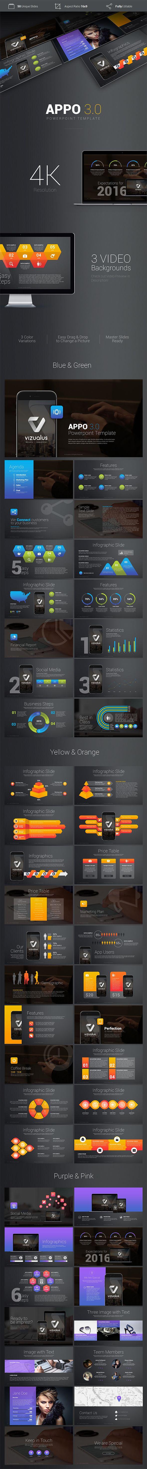 Premium App Powerpoint Template #slides #design Download: http://graphicriver.net/item/premium-app-powerpoint-template/14328971?ref=ksioks
