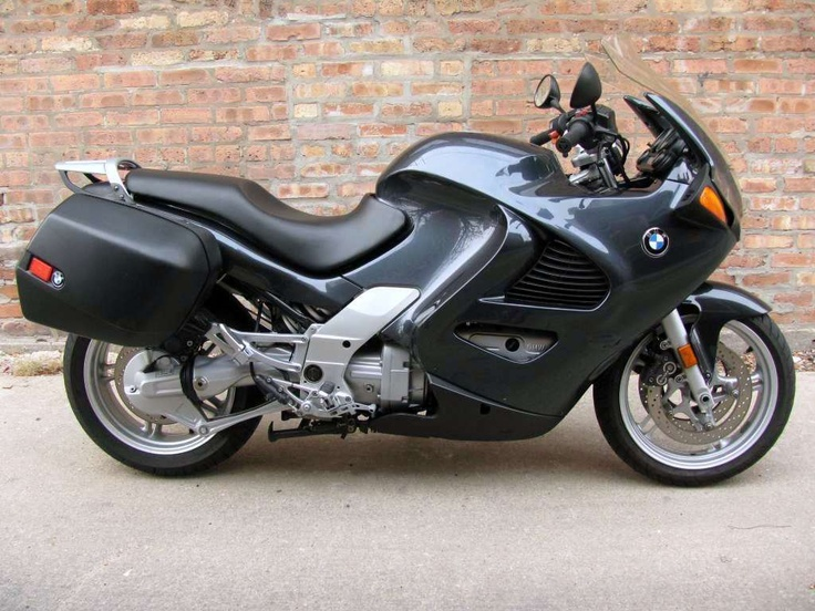 BMW K1200RS Another sport touring bike I'd like to have. I want this one to match my BMW M5 because it reminds me of those toy sets I'd see as a kid with the truck, car, trailer, and motorcycle all painted with a matching theme.