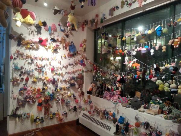 Amigurumi room World Amigurumi Exhibition Pinterest ...