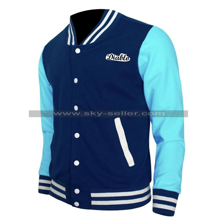 #Suicide_Squad_Jacket #Letterman_Jacket #Varsity_Jacket #Baseball_Jacket #Chato_Santana_Jacket #El_Diablo_Jacket