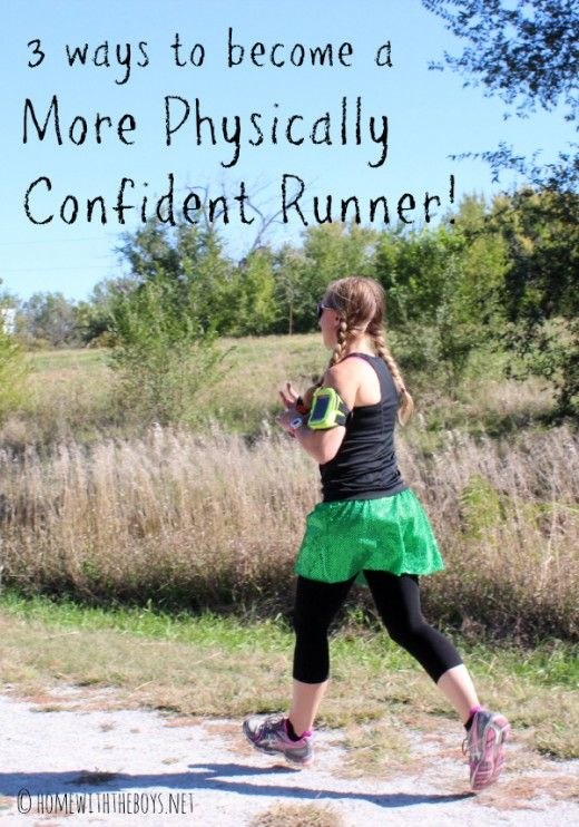 A few things you can do to be a more physically confident runner, and these things will also help you run stronger, faster, and longer!