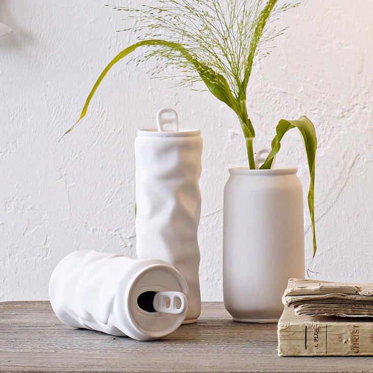 Porzellan Vasenset in Dosenform. #impressionen #decoration
