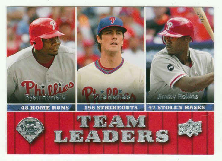 Ryan Howard / Cole Hamels / Jimmy Rollins # 432 - 2009 Upper Deck Baseball