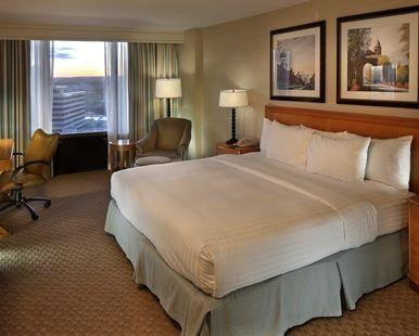 Hilton Hotel Hartford, CT - King Guestroom  | CT 06103