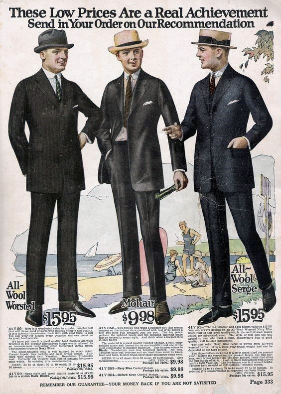 2ca946920 1920s Mens Fashion Style Guide - A Trip Back In Time | Clothes of ...