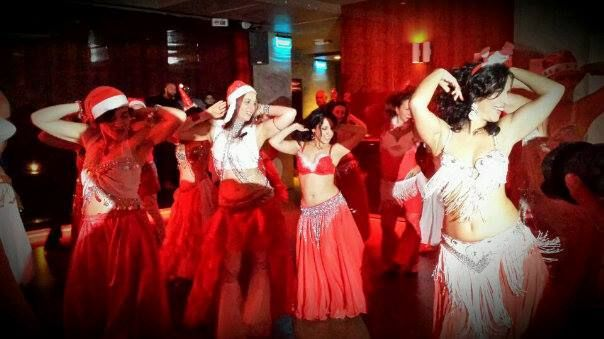 All I want for Christmas...is bellydance!