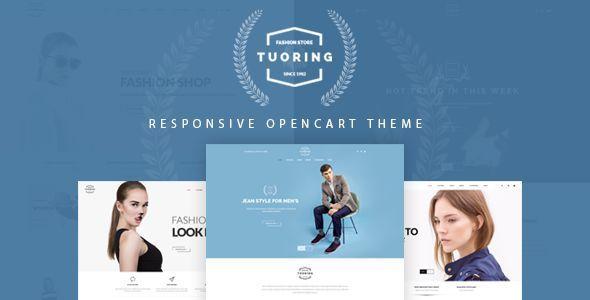 Tuoring – Multipurpose Responsive Opencart Theme #opencart theme #responsive #re…