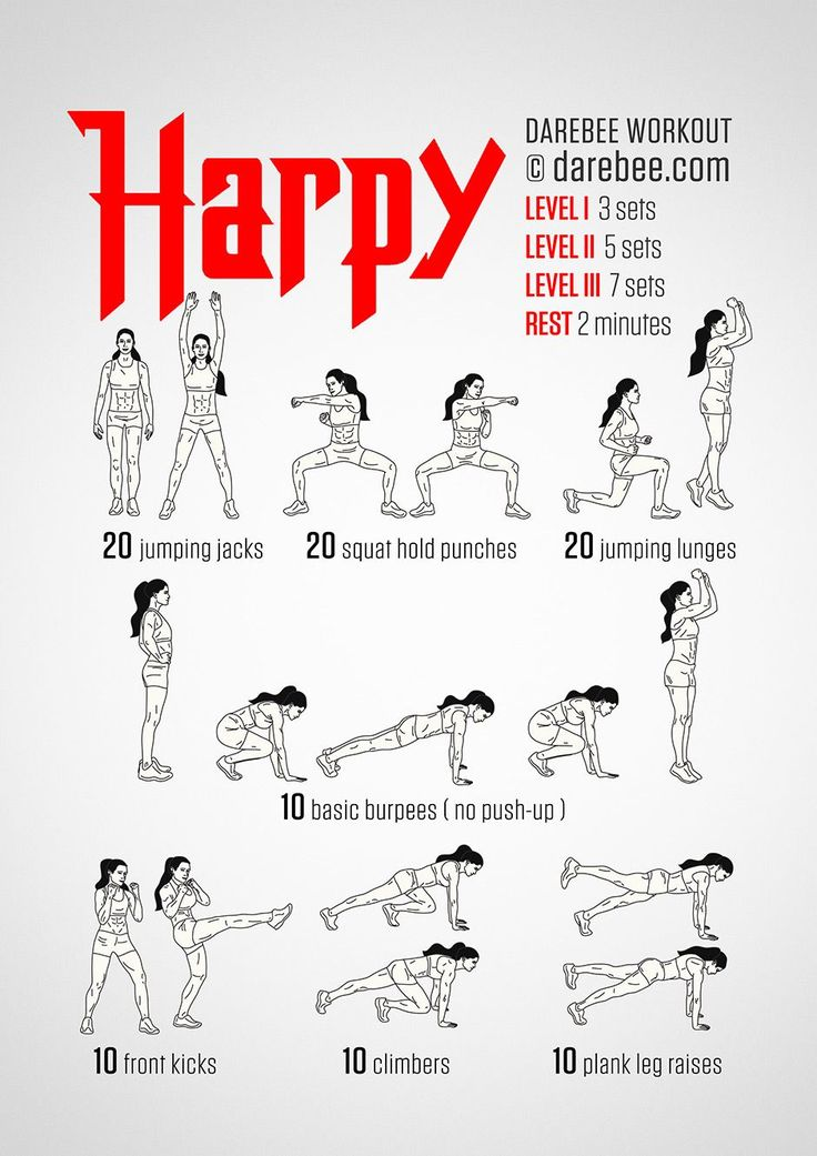 This is Day 2 Workout.  Workout at Level 1 because you are doing this with HIIT.