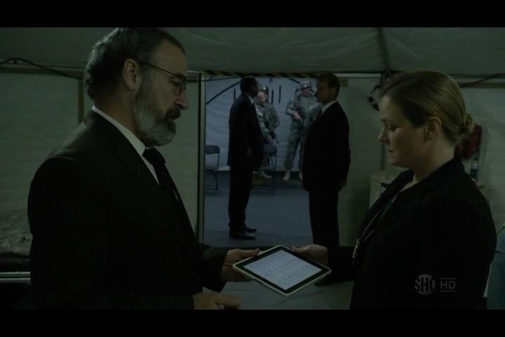 Product Placement in TV-Serien - Homeland / ipad