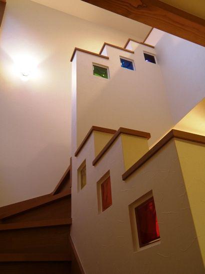 ガラスブロックの施工例 | 住宅雑記帳