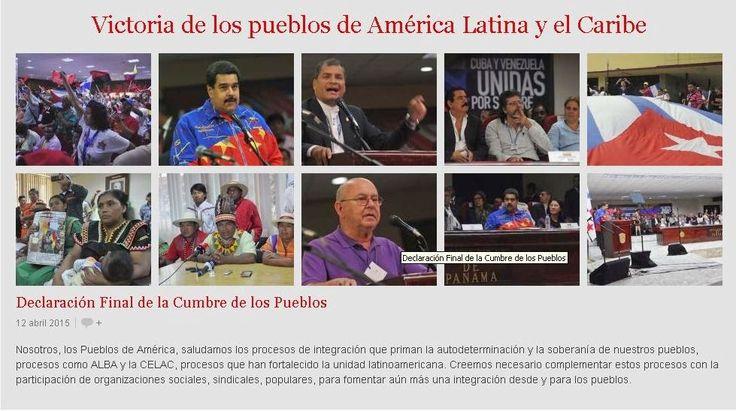 Rompiendo Muros: Victoria de los pueblos de América Latina y el Car...