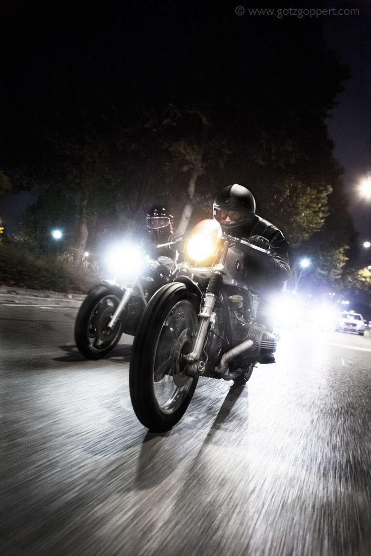Motorcycle, Motorcycle Photography, Bmw Cafe Racer