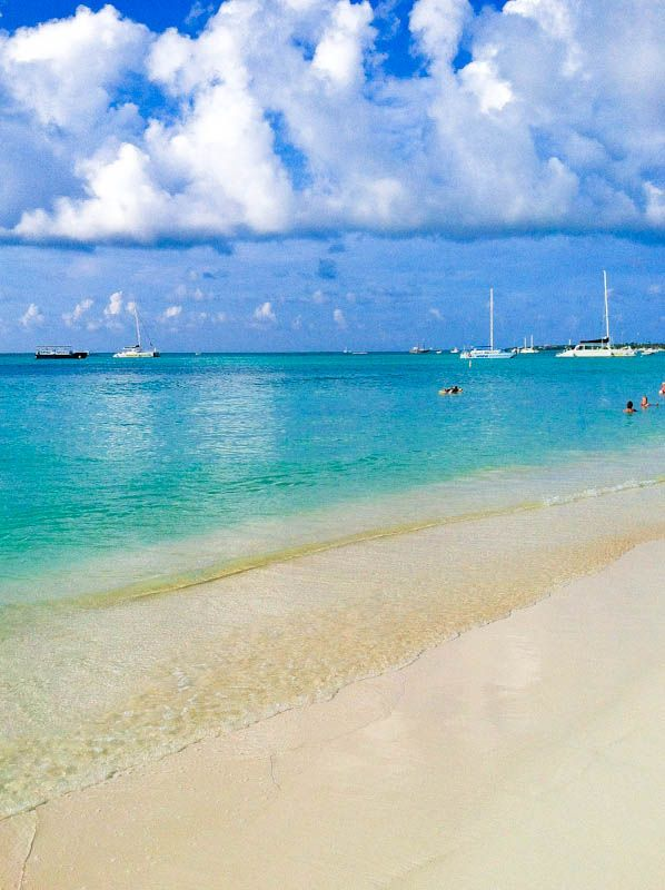 Palm Beach, Aruba ... Quite possibly my favorite beach of all time.