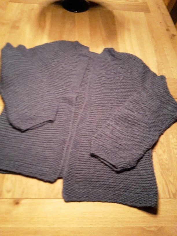 Cardigan i  bomuld og silke