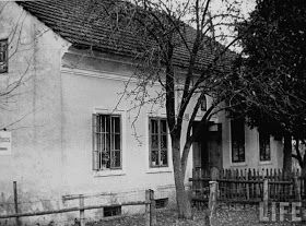1945 (Year picture was taken) - Leonding, Austria: Adolf Hitler's childhood home, where his parents died.