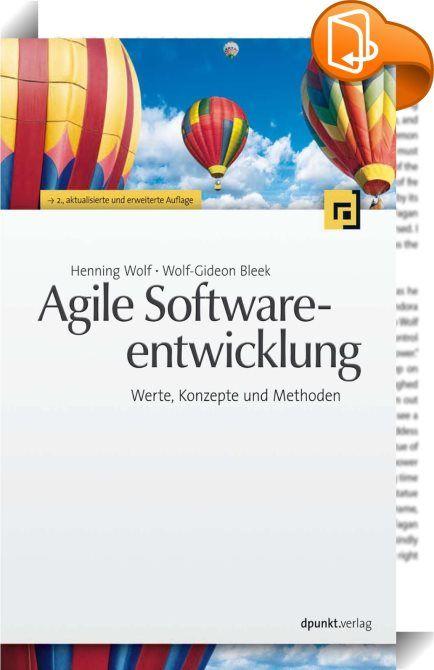 Agile Softwareentwicklung    ::  Dieses Buch führt in die agile Sichtweise bei der Softwareentwicklung ein. Dies geschieht unabhängig von einer konkreten agilen Vorgehensweise. Nach einem Überblick über die Grundlagen agiler Werte und Konzepte wird agiles Vorgehen in der Softwareentwicklung auf den Ebenen Prozess, Management, Team und Programmierung betrachtet. Anhand von typischen Fragen und Problemen wird aufgezeigt, wie diese mit agiler Softwareentwicklung gelöst werden. Eine Übersi...