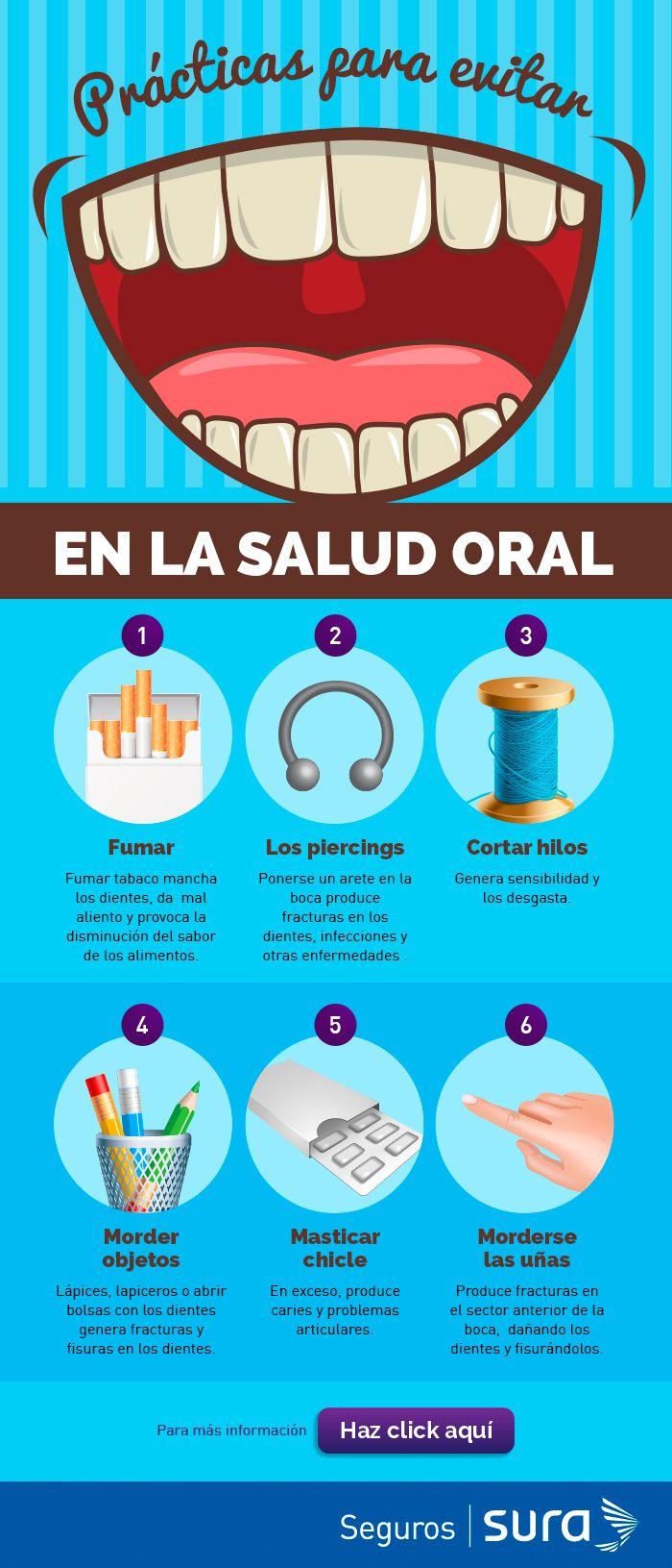 Algunos consejos para mantener una buena #SaludOral