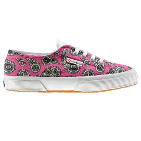 Shoe Superga cutomized Floral Paisley