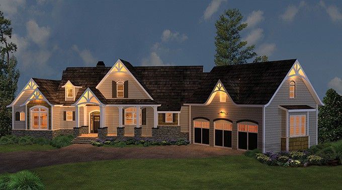 Craftsman+House+Plan+with+2498+Square+Feet+and+3+Bedrooms+from+Dream+Home+Source+|+House+Plan+Code+DHSW075891