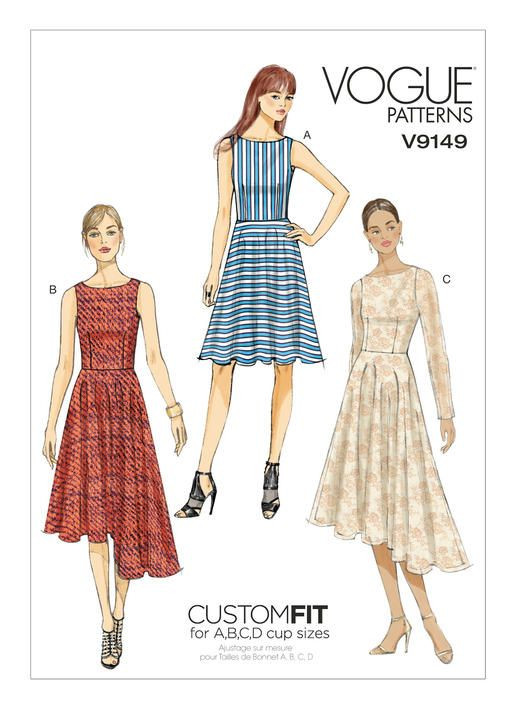 The 207 best Vogue Patterns images on Pinterest | Clothes patterns ...
