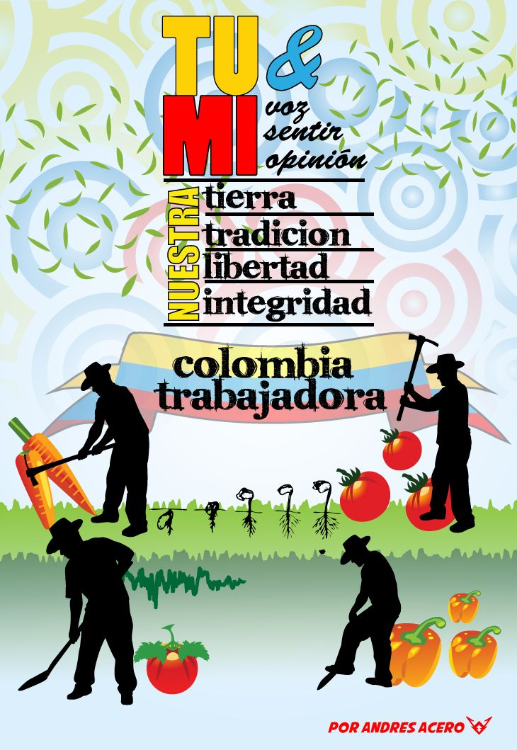 Poster Colombia