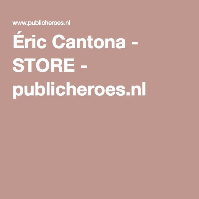 Éric Cantona - STORE - publicheroes.nl