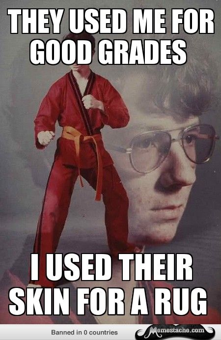 Karate Kyle: They used...